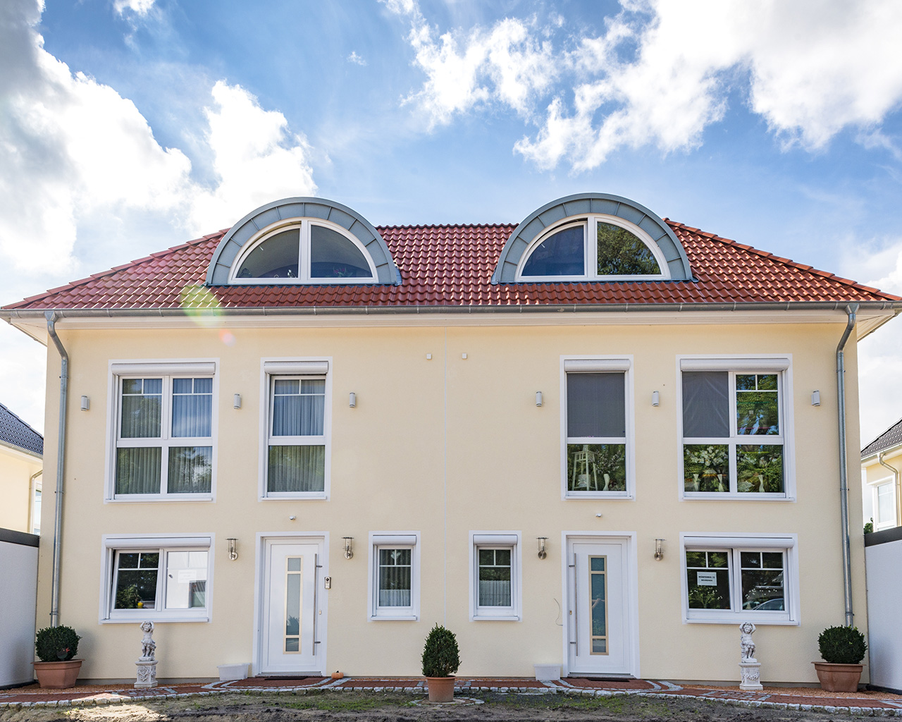Doppelhaushälfte XL Villenstil