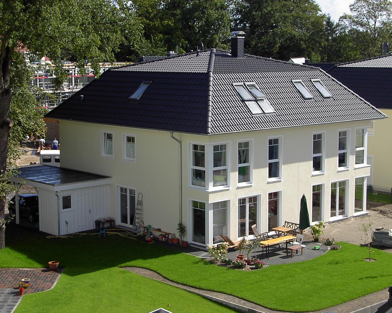 Doppelhaushälfte XXL Villenstil